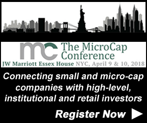 MicroCap Conference, Investor Conferences, Micro-Cap Investing