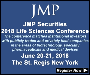 JMP Securities 2018 Life Sciences Conference