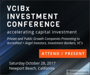 VCIBx, Venture Capitalists,  Investment Bankers, VCIBx Investment Conference
