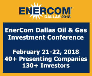 EnerCom Dallas, EnerCom Dallas 2018, EnerCom Dallas Oil & Gas Investment Conference