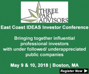 Three Part Advisors 2018 East Coast IDEAS Investor Conference