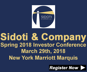 Sidoti & Co Spring Investor Conference